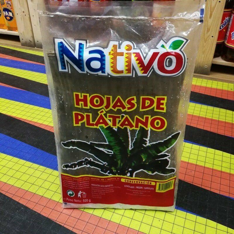 Hojas de Platano para hallacas - Goya Nativo 1