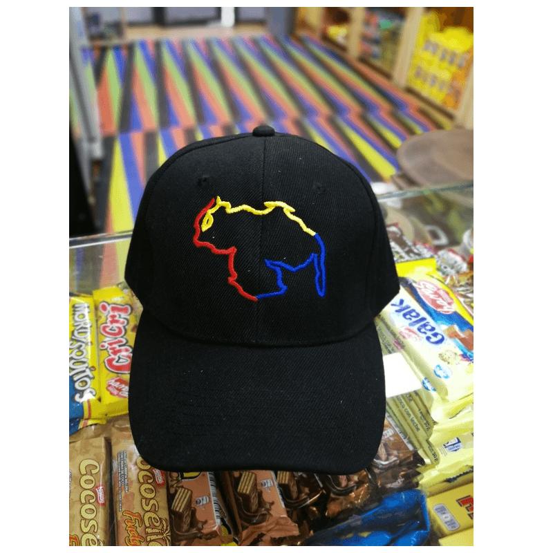 Gorra Venezuela Mapa Tricolor Mandalo Spain