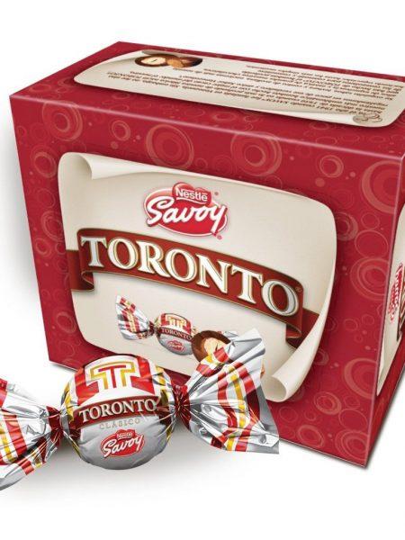 chucheras chocolate toronto caja de 36 unidades