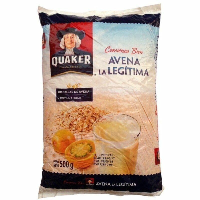 Avena Quaker La Legitima 500gr 1
