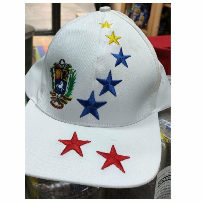 Gorra Venezuela 7 Estrellas Blanca Mandalo Spain