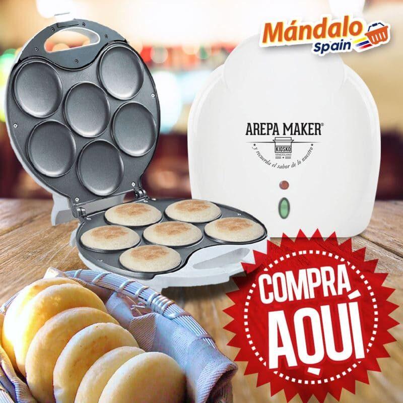 Tosti Arepa - Arepa Maker 1