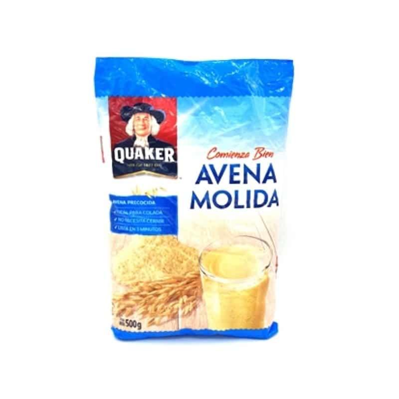 Avena Quaker Molida 500gm 7861035520023 Mandalo Spain
