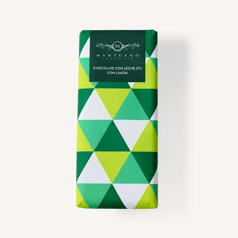 Chocolate Leche 37 Limon 8437019222086 Mandalo Spain