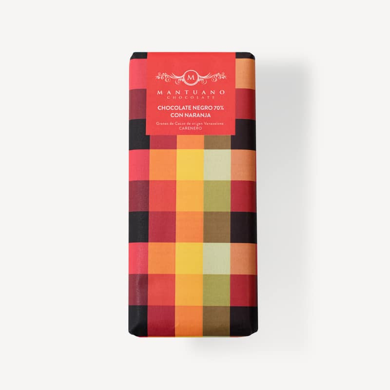 Chocolate Oscuro 70 Naranja 8437019222024 Mandalo Spain