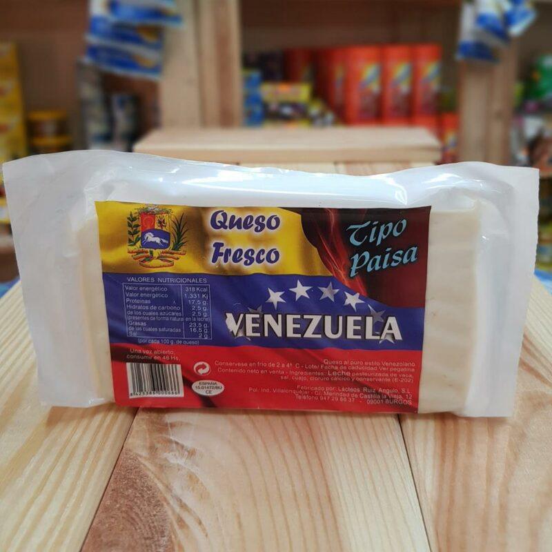 Queso Venezolano tipo Paisa Mandalo Spain