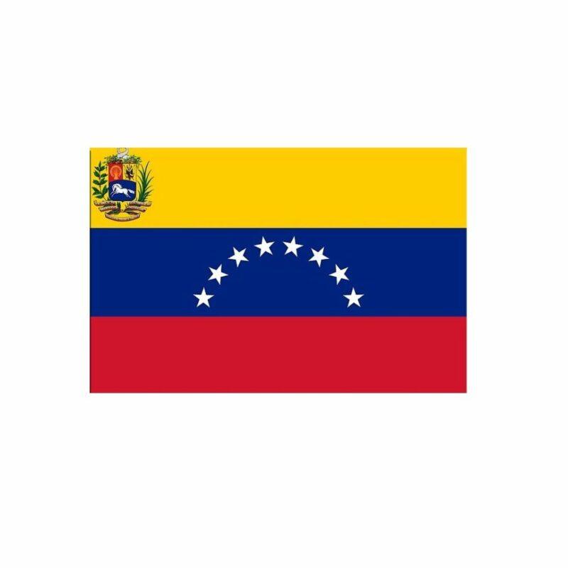 Etiqueta Bandera Venezuela 28067 Pegatina Mandalo Spain