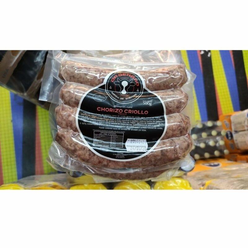 Chorizo criollo Da Genaro 6 unidades 9431477602 Mandalo Spain
