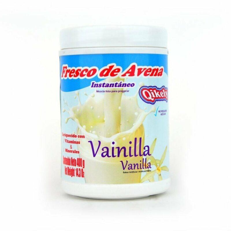 Fresco De Avena Qikely Vainilla Tarro 400gr 7707124900058 Mandalo Spain