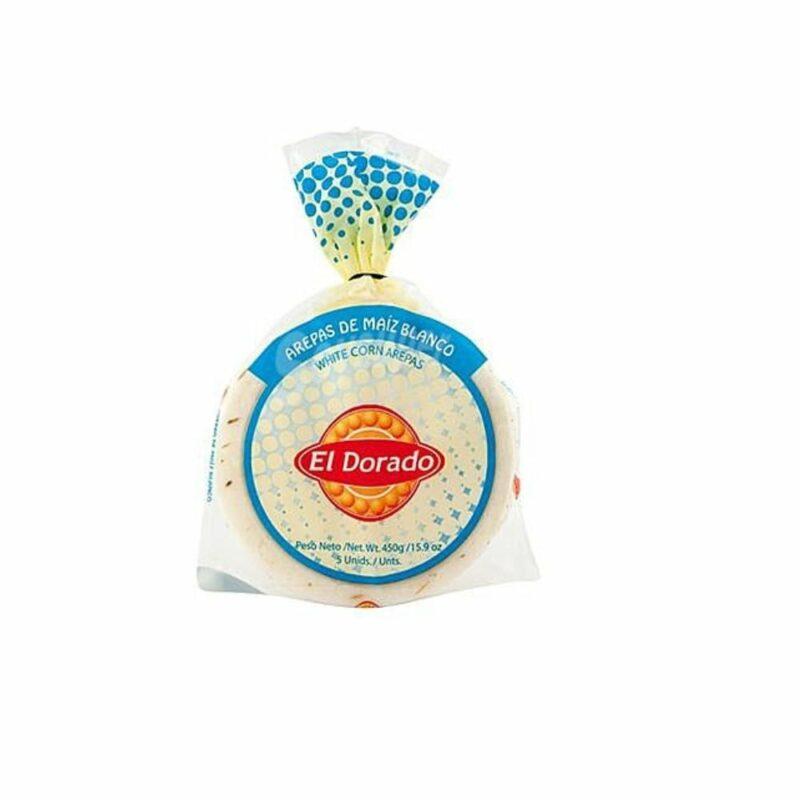 Arepa Maiz Blanco 5 Unidades El Dorado 7703386000956 Mandalo Spain