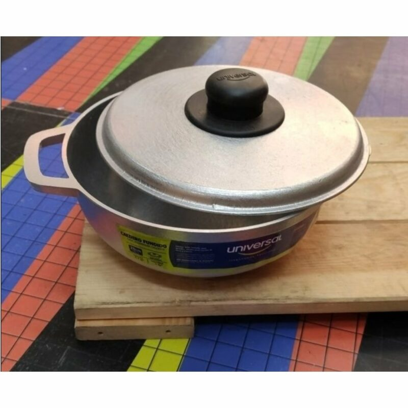 Caldero Aluminio Fundido 20cm 7702561790248 Universal Mandalo Spain