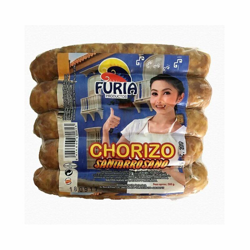 Chorizo Santarrosano Furia 8414606960613 mandalo Spain