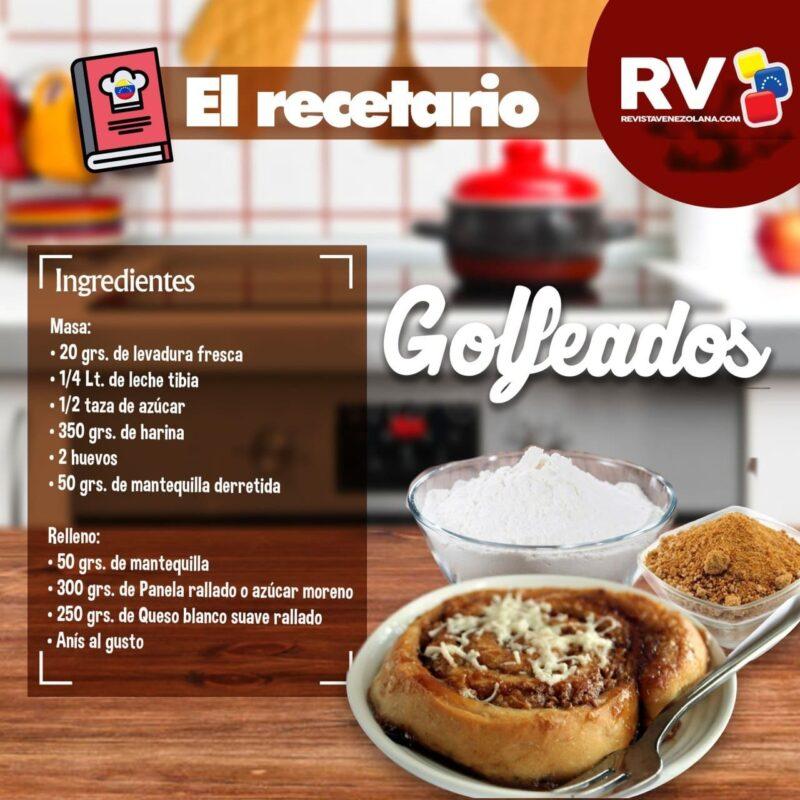 Receta de Golfeados Venezolanos