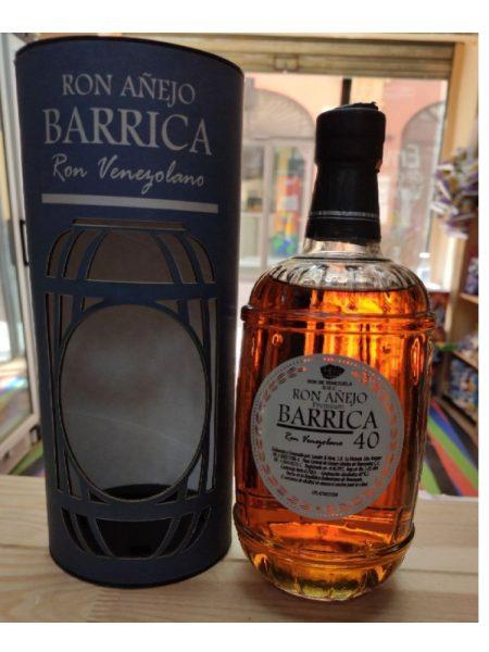 Ron Añejo Barrica 40