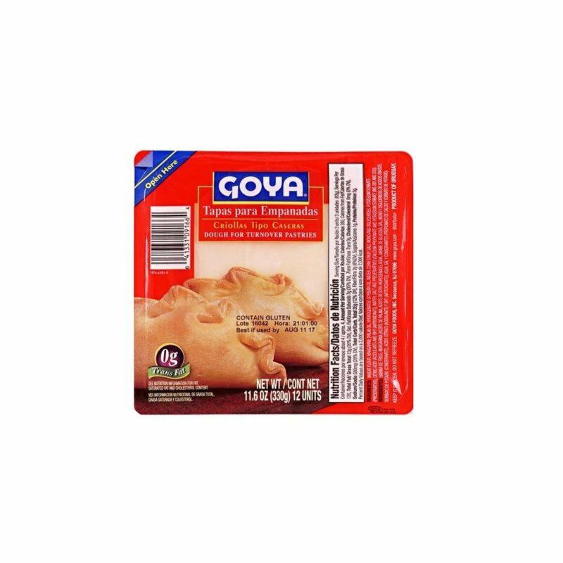 Tapas masa para empanadas pastelitos Goya 8426967093510 Mandalo Spain