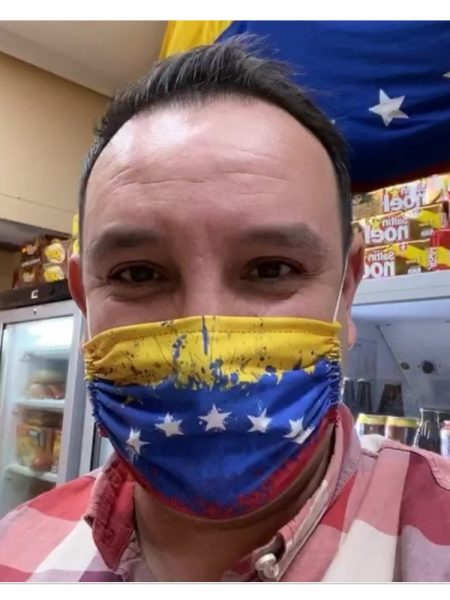 Mascarilla de tela Venezuela