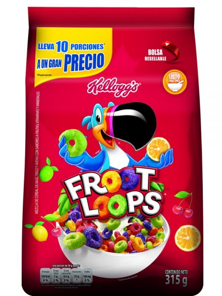 Froot Loops Kellogg's Bolsa 315