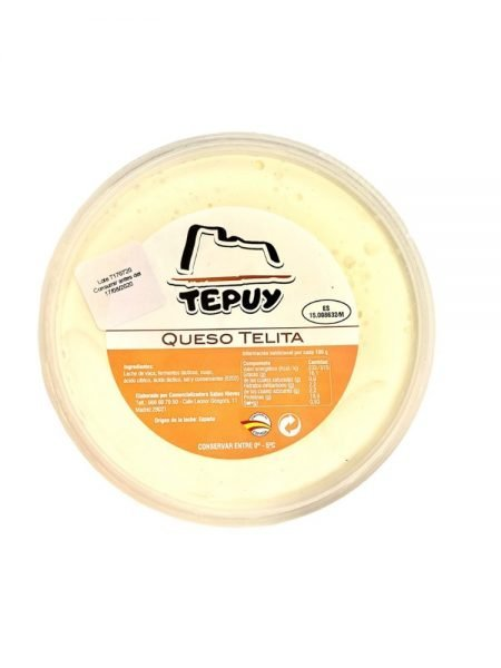 Queso Telita Tepuy