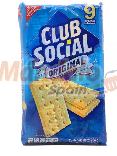 Club Social Paquete de 9 Galletas