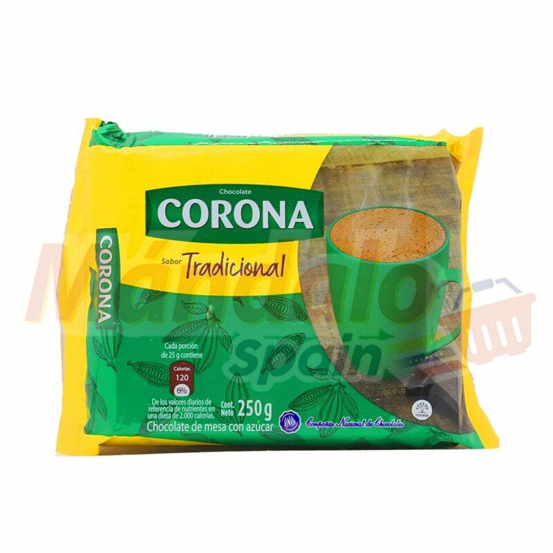 Chocolate Taza Corona 250 gr