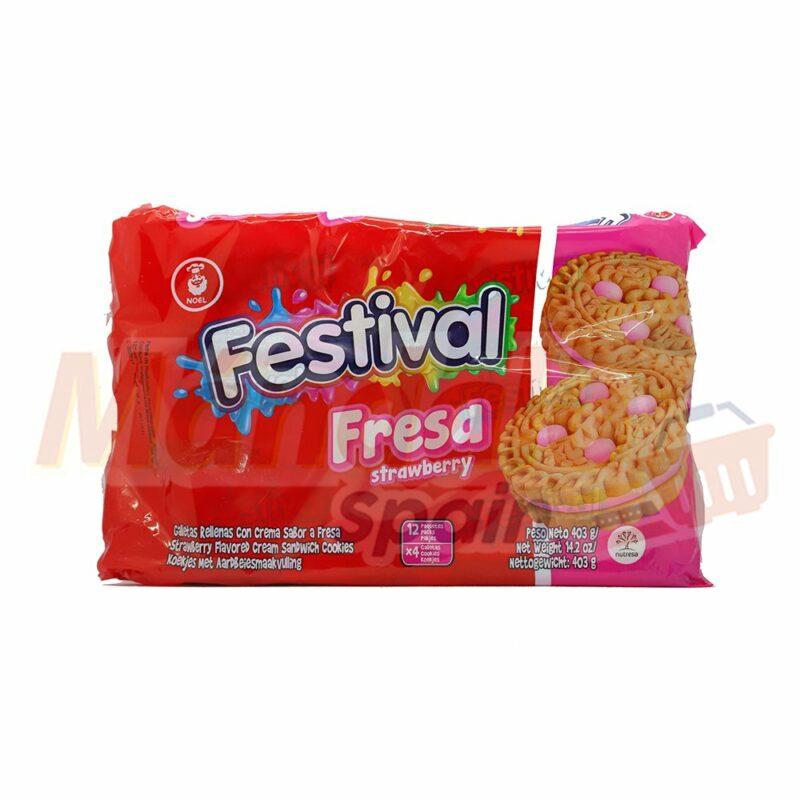Galletas Festival Fresa
