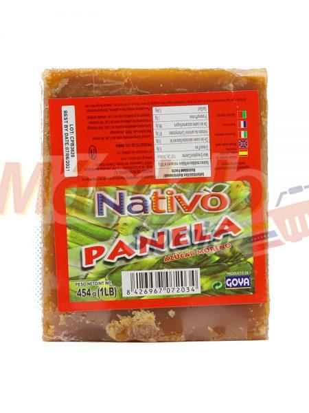 Papelón Panela 454 gr - Goya Nativo