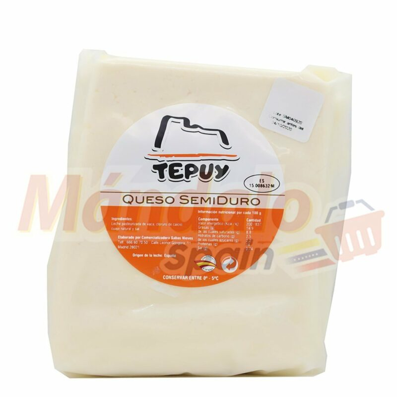 Queso SemiDuro 1 Kilo - Tepuy