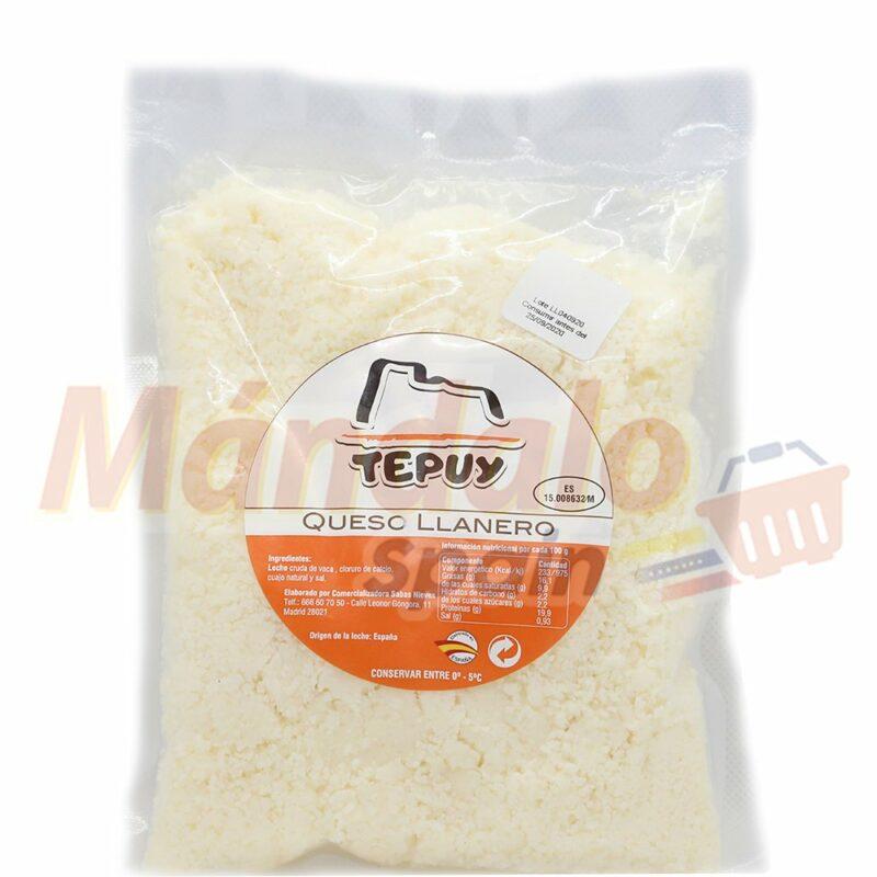 Queso Llanero Rallado 500 gr - Tepuy