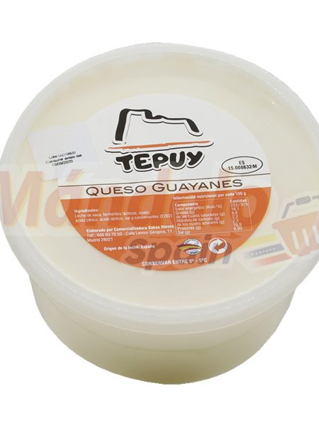 Queso Guayanes 500 gr - Tepuy