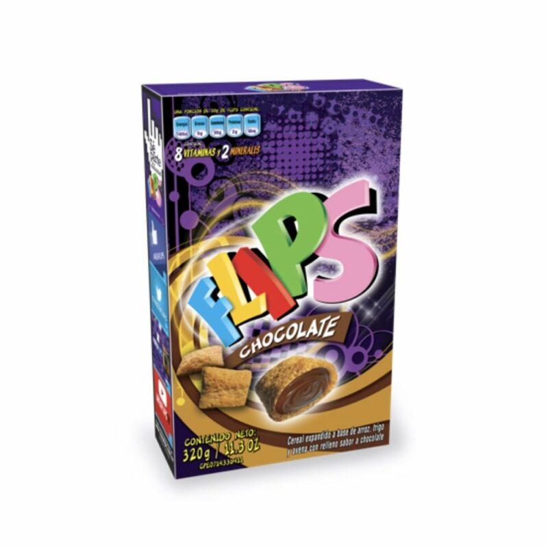 Flips Chocolate Caja 320 gr