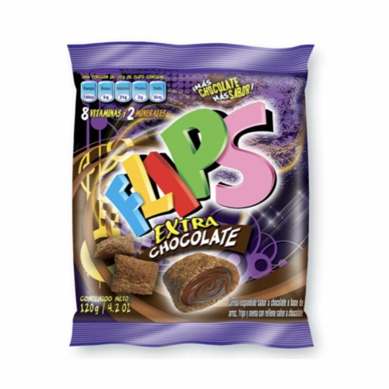 Flips Extra de Chocolate Bolsa 120 gr