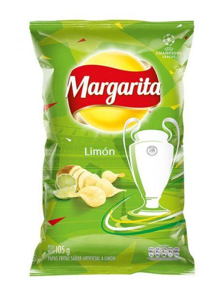 Papas Onduladas Sabor a Limón Margarita