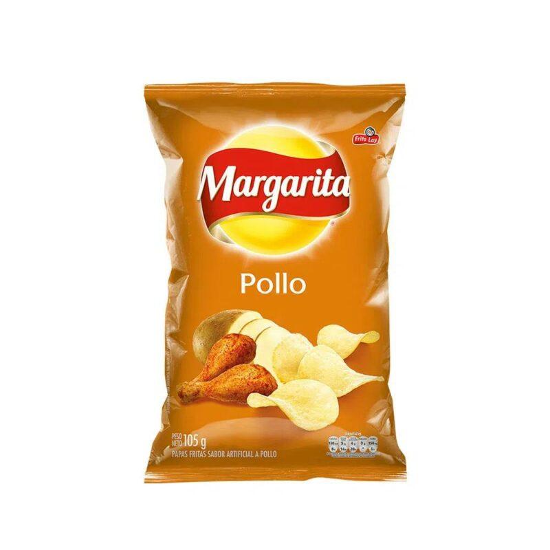 Papas Onduladas Sabor Pollo 105 gr Margarita 7702189053770 Mandalo Spain