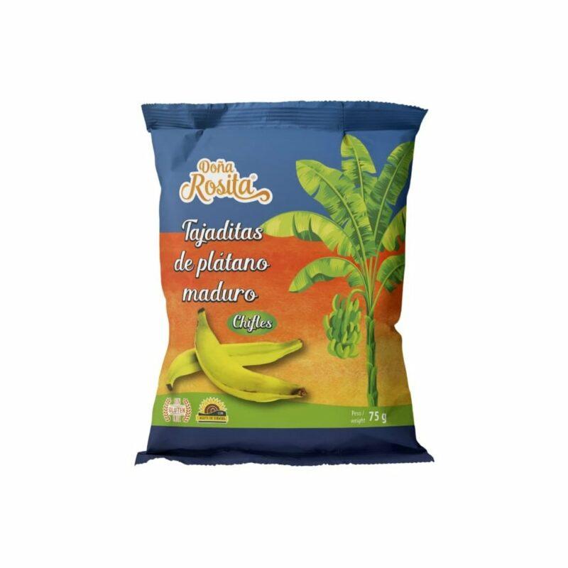 Platanitos Maduro 75 gr Doña Rosita