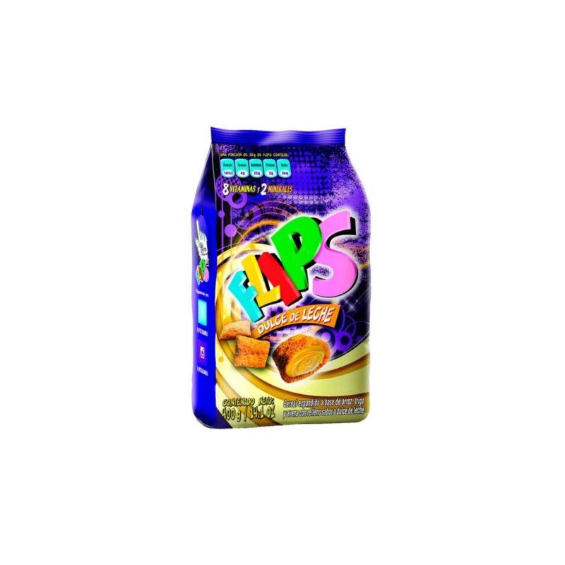 Flips Dulce de Leche 400 gr