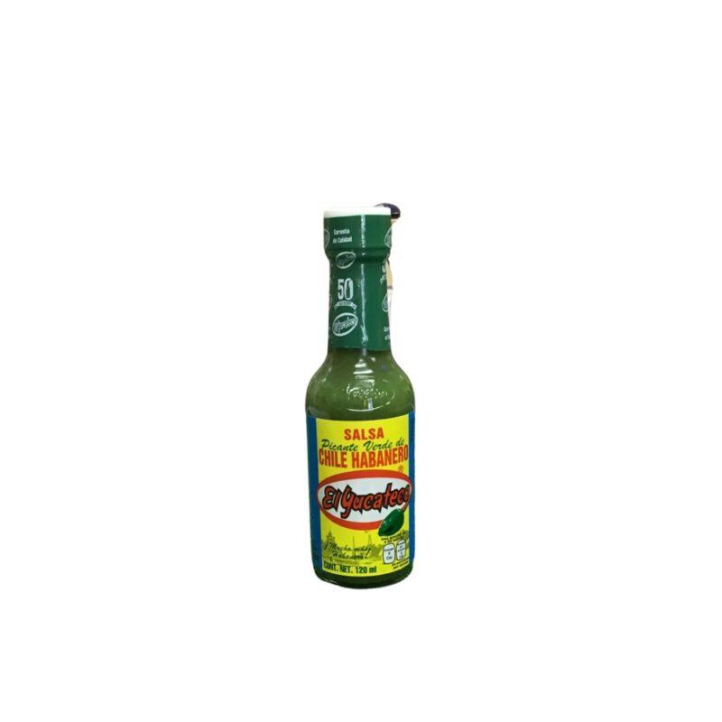 Salsa picante Verde El yucateco